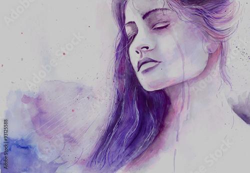 woman crying - 93125588