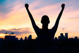 Success and life achievement concept.