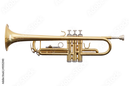 Staande foto Muziekwinkel classical music wind instrument trumpet