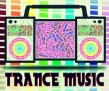 Trance Music Indicates Sound Track And Electronic poster