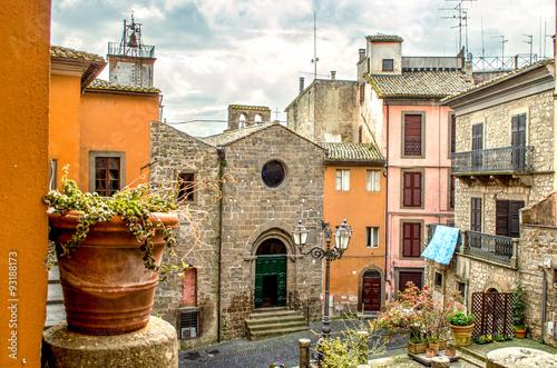 Zdjęcia na płótnie, fototapety na wymiar, obrazy na ścianę : Viterbo -  Lazio - Montefiascone - travel italy