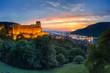 Heidelberg Schloss bei Nacht