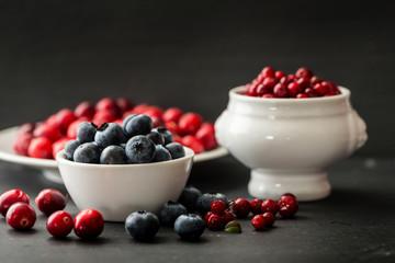 Beeren Stillleben-Berrys