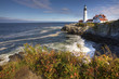 Portland Light in Maine on a beautiful day