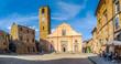 Townsquare in Civita di Bagnoregio, Lazio, Italy