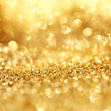 Gold shimmering background