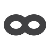 Limitless symbol icon poster