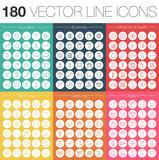 VeKtor Linien Icons Set - 93267559