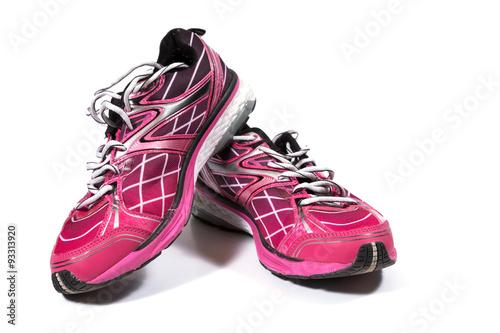 Tuinposter Gymnastiek Colorful training shoes