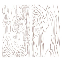 various monochrome wood texture collection illustration.