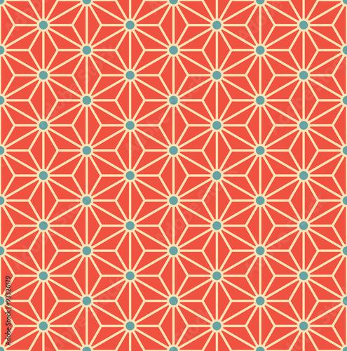 minimalistic pattern of triangles