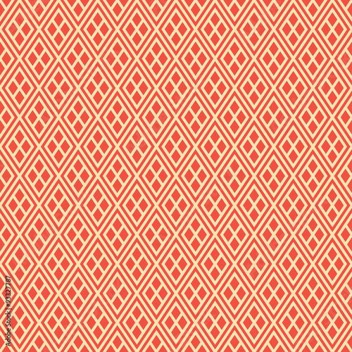 vintage rhombus pattern.