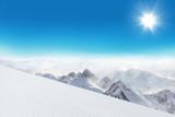 sjezdovka v horách