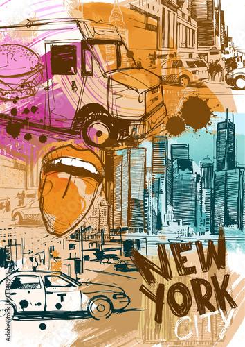 New York City Traffic - 93340935