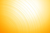 Fototapety Bright yellow background with thin lines