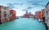 Fototapety Canal Grande with Basilica di Santa Maria della Salute in Venice