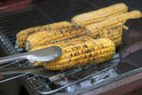 roasted corn on the grill - 93375133