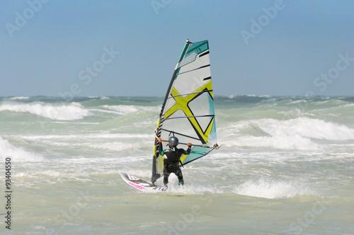 obraz lub plakat Windsurfer