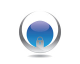 lock world logo