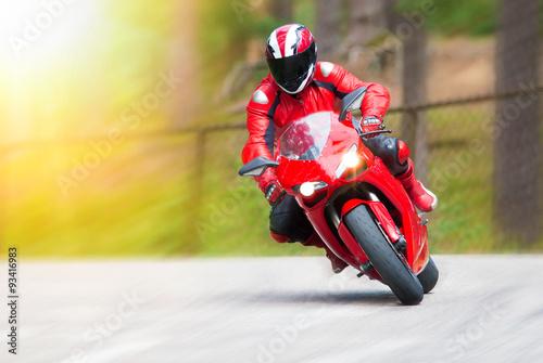 Valokuva Motorbike racing