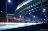 Motorway and elevated road