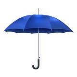 realistické modré deštník