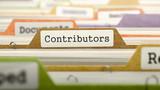 Contributors on Business Folder in Catalog.