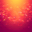 Beautiful abstract geometric style background with vibrant color tones.