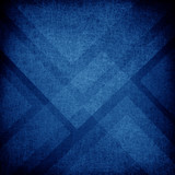 Fototapety blue background with abstract pattern layers of blue triangle and diamond shapes