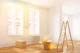 Fototapety Umzug in eine sonnige Wohnung