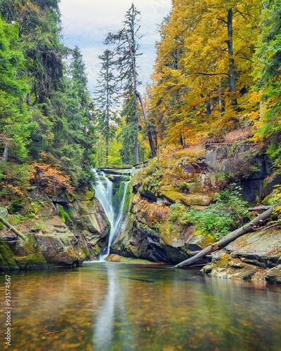 szklarki-waterfall-in-poland