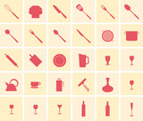 Cooking icon set - 93579173