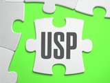 USP - Jigsaw Puzzle with Missing Pieces. poster