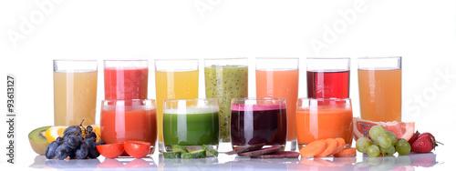 Fototapeta Fruit & vegetable juice