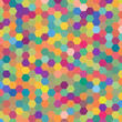 abstract background consisting of pastel orange, green, pink, blue colors