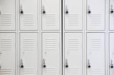 lockers in gym - 93658174