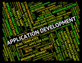 Application Development Shows Success Regeneration And Program poster