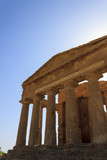 Greek Temple of Concordia in Agrigento - Sicily, Italy