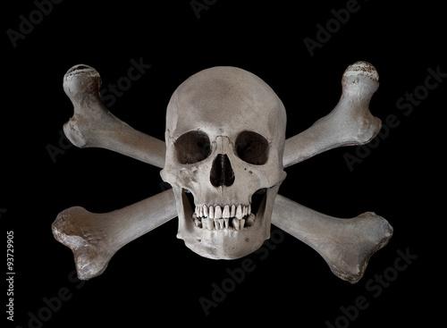 Poster Skull and Crossbones SLHU