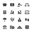 Finance Icons, Mono Series