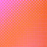 Fototapety Dots on Pink Background. Halftone Texture