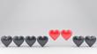 Quadro The hearts