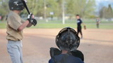 Baseball Little League hit run rural town HD 0071