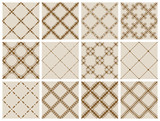 Fototapety Seamless pattern collection