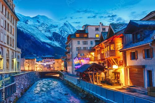 Chamonix-Mont-Blanc, Frankreich Poster