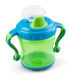 Transparent sip cup - nipple - pacifier botle for water or milk