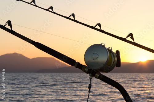 Marlin fishing Poster
