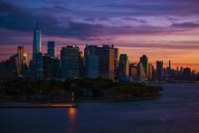 Sunrise Skyline Nova Iorque