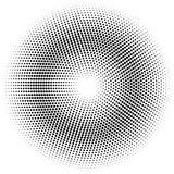 halftone circle.