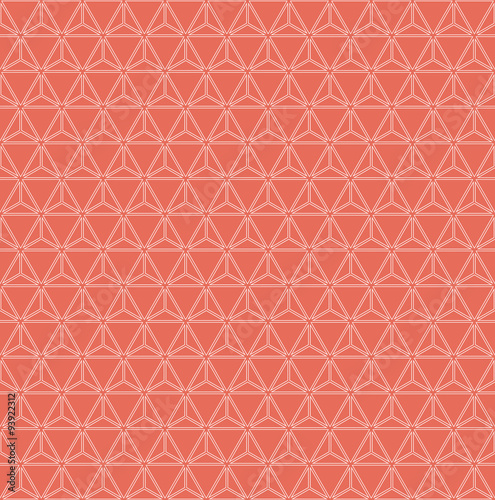 grid pattern of triangles
